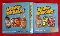 2011 Topps Wacky Packages Ans8 Official Blue Binder  @@ Rare @@