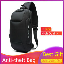 Multifunction Crossbody Bag Anti theft Shoulder Messenger Waterproof Chest Bags $30.99
