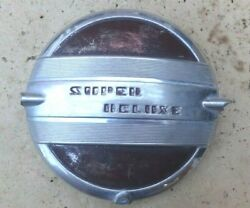 1941 Ford Super Deluxe Steering Wheel Horn Button Original Custom Rod And03942-48