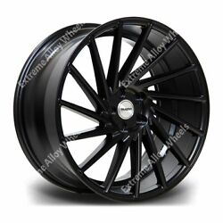 20 Black Rv135 Alloy Wheels Fits Bmw 5 6 7 8 Series All E And F Series Models