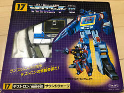 Vintage Takara Transformer 17 Soundwave Rumble Figure Toy Rare
