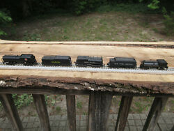 N Scale Bachmann Con-cor Tinder Union Southern Pacific Great Northern Nycentral