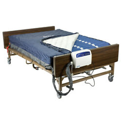 Drive Medical 14060 Bariatric Heavy Duty Low Air Loss Mattress Replacement, Blue