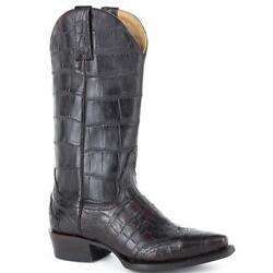 Womenand039s Stetson Lola Alligator Boots Handcrafted