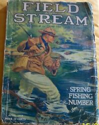 Field And Stream Magazineapril1916 Antique Ads,guns,reels,lures,motors,canoes,gear
