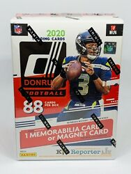 2020 Panini Donruss NFL Football Blaster Box Red Target Exclusive Cards SEALED $39.95