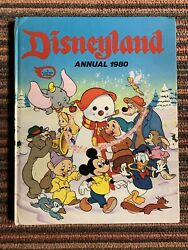 Vintage Disney Disneyland 1980 Annual Book Mickey Mouse Donald Duck Collectibles
