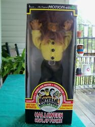 Vintage 1992 Telco Motionettes Universal Monster The Wolfman Halloween Figure