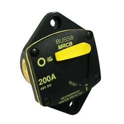 Power Products Blue Sea Systems 7049-bss Panel Mounted Circuit Breaker 200a