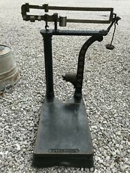 Vintage Fairbanks Hardware Grocery Store Usps Scale Store Counter Display
