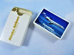 Alaska Airlines Playing Cards Boeing 727 Complete In Opened Pack Usa