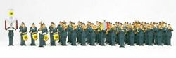 Preiser Ho Scale Figures Military 61-piece Air Force Marching Band   13256
