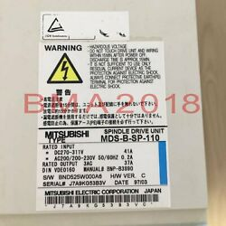 1pc Used Brand Mitsubishi Server Driver Mds-b-sp-110 Tested Fully Fast Delivery