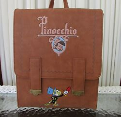 Disney Loungefly Jiminy Cricket Pinocchio Mini Satchel Backpack Bag NWT $159.95