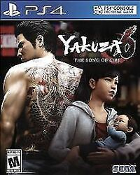 Yakuza 6the Song Of Life Sony Playstation 4 2018 Ps4 Buy From A Trusted Seller