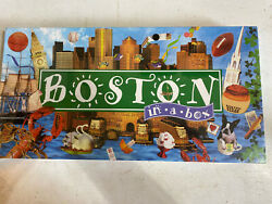 BOSTON IN A BOX MONOPOLY BOARD GAME LATE FOR THE SKY Sealed