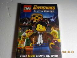 Lego: The Adventures of Clutch Powers DVD MOVIE new sealed $7.50