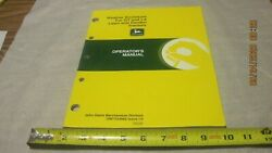 John Deere Weather Enclosure For Gt/lx Lawn/garden Tractors Manual Used