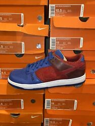 Nike Dunk Zoom Dunkesto Low Deep Red Blue 315207 661 Size 8-13
