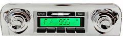 1959-1960 Impala Belair New Am Fm Stereo Radio Usa-230 200 Watts Auxiliary In