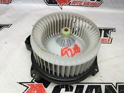07 08 09 10 11 12 13 14 15 16 17 Toyota Camry Front Heater Motor Assembly