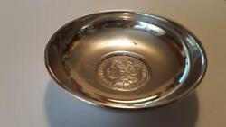 B And M 1888 And039and039oand039and039 Mint Morgan Dollar Sterling Silver Bowl