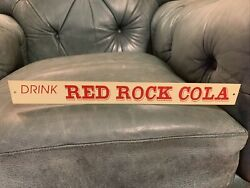Red Rock Cola Soda Advertising Sign