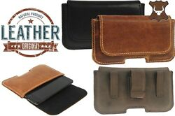 With Clip Ricardsson Pouch Made Of Genuine Leather Case Cover For Mobile Phones