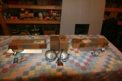 Nos 1967 Mustang Gt Fog Lamps, Grill Bars And Nos Switch, Mint In Ford Box's