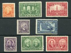 Canada 1927 60th Anniversary Both Sets Sg266/73 Mm Cat Andpound82
