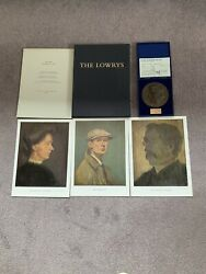 Ls Lowry Signed Limted Edition Prints And Bronze Plaque