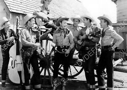 8b20-0686 Roy Rogers Sons Of The Pioneers Western Film Red River Valley 8b20-068
