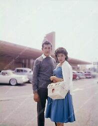 8b20-13039 Annette Funicello And Date At Historic Bobs Big Boy Restaurant 8b20-1