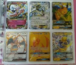 Pokemon Tcg - Ultra Rare Ex And Gx And Promo And Holo Foil Cards + Ultra Pro Toploader