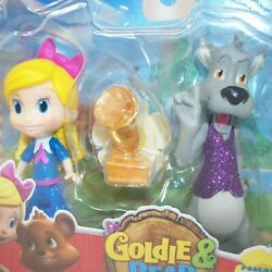 Disney Junior Goldie And Bear Series Goldie And Big Bad Wolf 2 Pack Action Figures