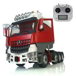Lesu Rc 1/14 Metal Chassis Rack Actros Hercules Cabin Tractor Truck Radio Sound