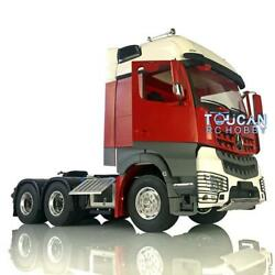 1/14 Lesu Rc Metal 66 Chassis Motor Painted Hercules Actros Cabin Tractor Truck