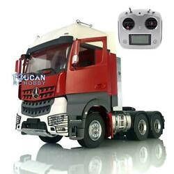Lesu Rc Metal 1/14 Chassis 66 Radio Hercules Painted Cabin Tractor Truck Sound