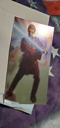 2002 Topps Star Wars Attack Of The Clones Oversize Foil 1 Of 5 Anakin Skywalker