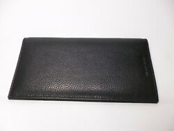 Private Label Black Soft Leather Top Selling Checkbook Cover Luxurious Look Feel $11.95