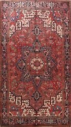 Excellent Vintage Traditional Area Rug Hand-knotted Oriental Dining Room 8x11