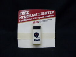 Rare 1986 Chicago Bears Promotional Lighter By Winston Cigarettes Nos/new
