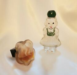 2 Vintage Figural Perfume Bottles For Sale, Add Them To Your Collection