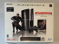 Sony Playstation 3 Ps3 - Metal Gear Solid 4 Guns Of The Patriot Bundle +5