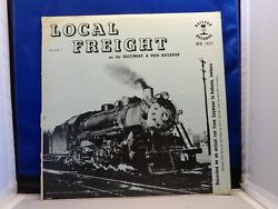 Local Freight B And O Steam Locomotive In Action Railfan Records Rfr 1001 1958