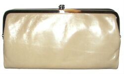 HOBO Lauren Parchment Leather Bifold Clutch Wallet NWT $70.00