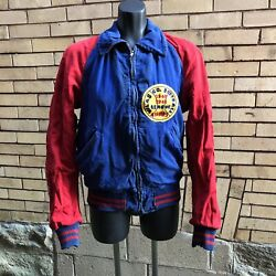 Vintage Vilas Co Wi Softball Championship Reversible Jacket 1940and039s 40-41