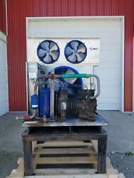 Russell Mes250l44 Copeland Compressor Fan For A Freezer Up To 9'x10' Tested 208v
