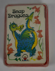 Snap Dragons Card Game-child's Play-7554-germany-new, Sealed With Case