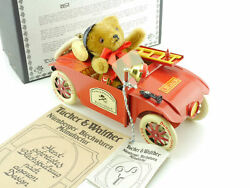 Tucher And Walther Fire Brigade Hanomag Kommissbrot Hermann Teddy Bear Boxed